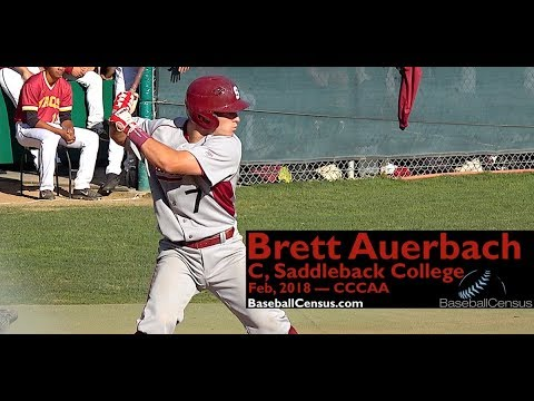 Brett Auerbach, C, Saddleback College