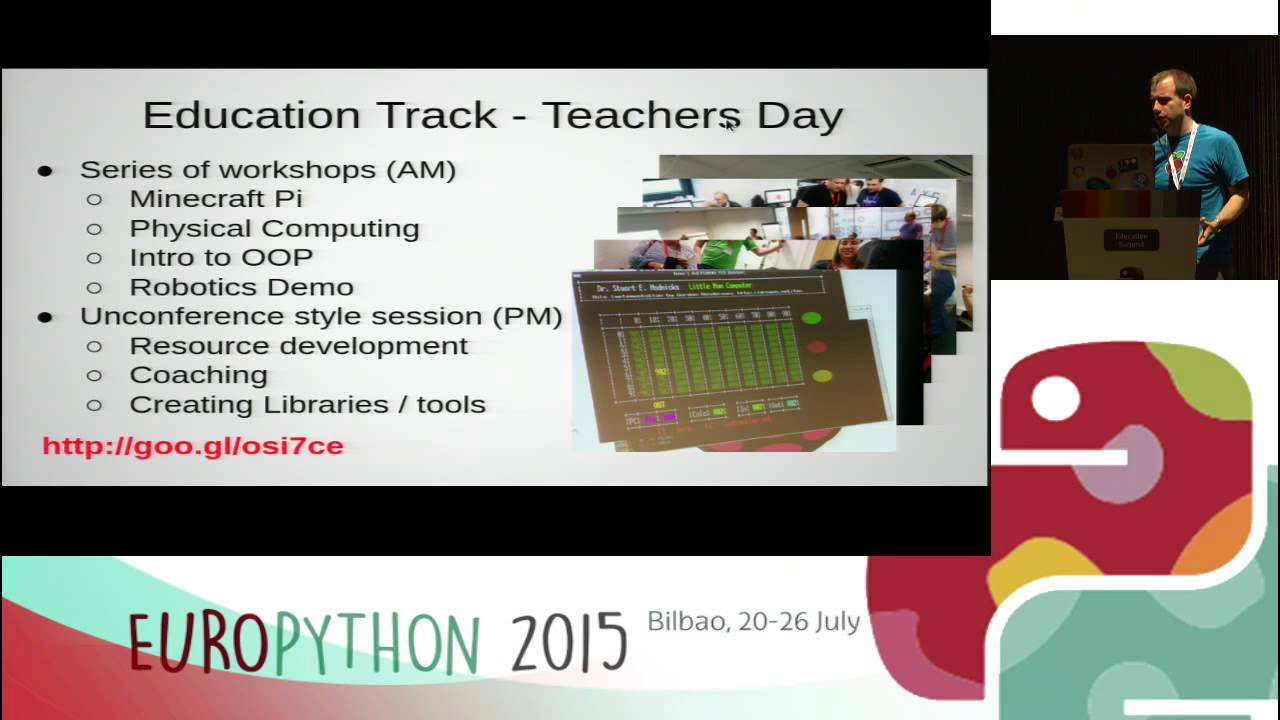 Image from Pycon - A teacher's perspective