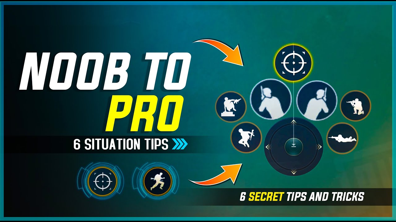 🔥# 8 | NOOB TO PRO | SECRET 6 POINTS TO IMPROVE YOUR GAME - PUBG MOBILE