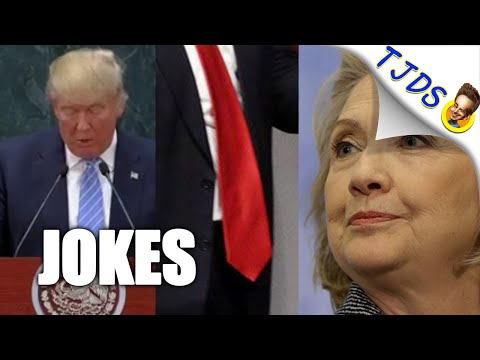 Trump In Mexico, Hillary Clinton, Georgetown & Other Jokes