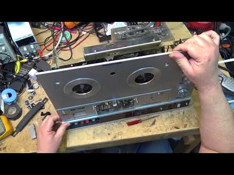 Sony TC540 Reel To Reel Mechanism Service