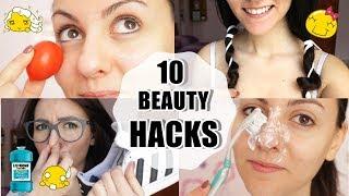 10 DIY BEAUTY HACKS #2! 10 TRUCCHETTI DI BELLEZZA DI CUI NON POTRAI PIU