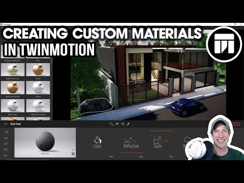 Getting Started RENDERING IN TWINMOTION (EP 6) - Creating CUSTOM