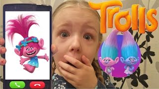 Calling Poppy From Trolls OMG She Actually Answered Freestyle Song I've Got This Feeling