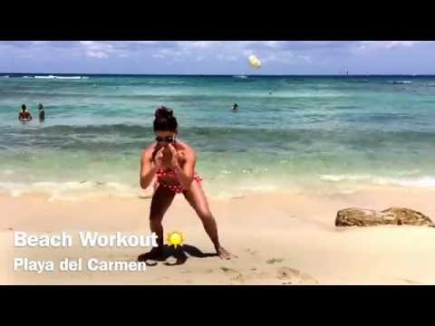 Beach Leg Workout
