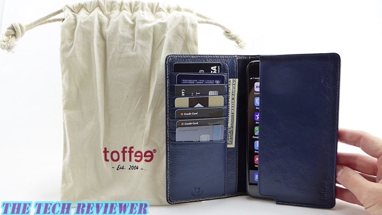 best website a9b6a 2de19 A High Capacity Leather Wallet Case for iPhone 8 Plus: Toffee Sleeve Wallet