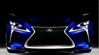 Lexus LF-LC Blue Concept 2012 Videos