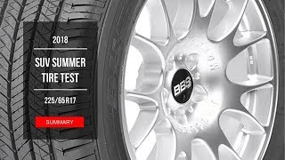 2018 SUV Summer Tire Test Results | 225/65 R17