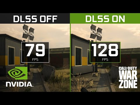 Call of Duty: Warzone | 4K NVIDIA DLSS Comparison