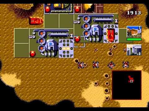 Dune, The Battle for Arrakis [Sega Playthrough] 1, 2 and 3-rd levels