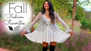 Fall Fashion Favorites + Trends! Thumbnail
