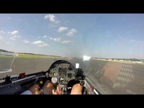 Landing ASW-22BLE  at 850kg MTOW