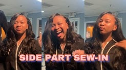 Side Part Sew-In