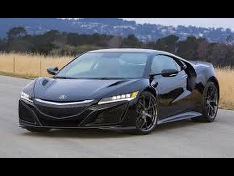 2017 ACURA NSX TOP SPEED - YouTube