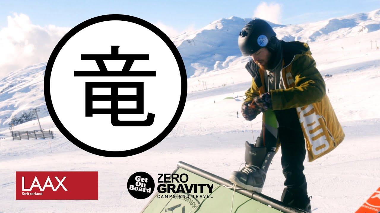Dragon - Pierwsza jazda na Desce - Snowboard