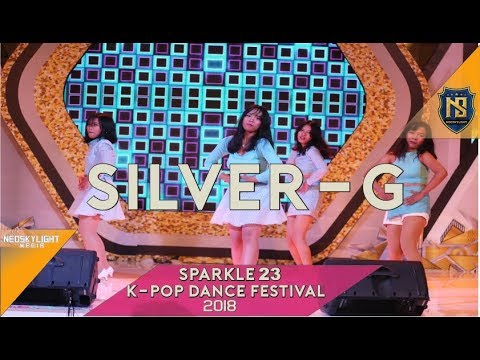 Silver G (02 miss A_Only You - miss A) at Sparkle 23th K-Pop Dance Festival 2018