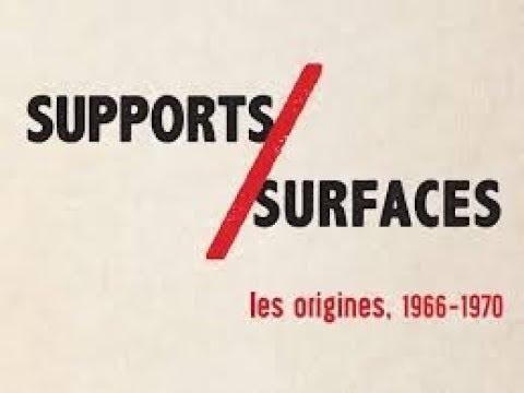 ART CONTEMPORAIN : Supports/Surfaces 1966-1970 interview Claude VIALLAT (Nîmes)