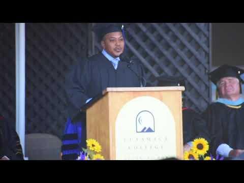 Joel Spencer Sr. Cuyamaca college commencement speech