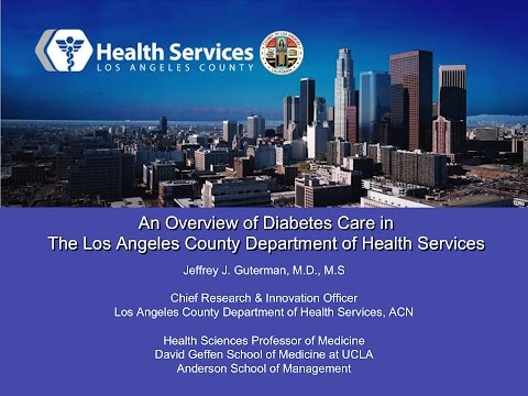 An Overview of Diabetes Care in The LA County Department of Health Services