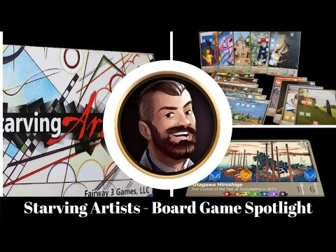 Starving Artists - Board Game Spotlight