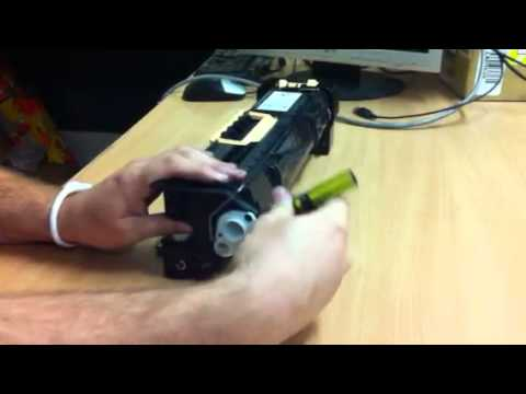 инструкция по замене чипа на drum phaser 5550