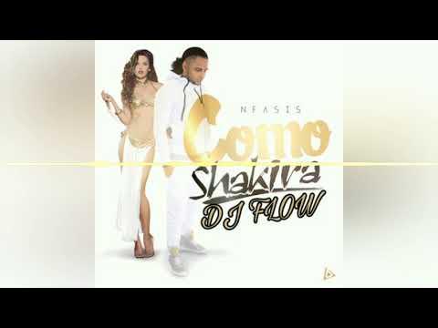 DJ FLOW FT. N Fasis - Como Shakira Mix