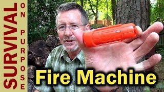 UST Blast Match - One-Handed Fire Starter
