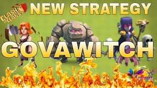 GOVAWITCH | 2016 | New WITCH + VALKYRIE  WAR ATTACK strategy | Clash of Clans