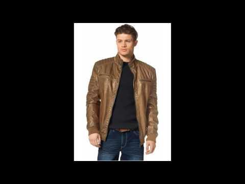 недорогие зимние кожаные куртки мужские