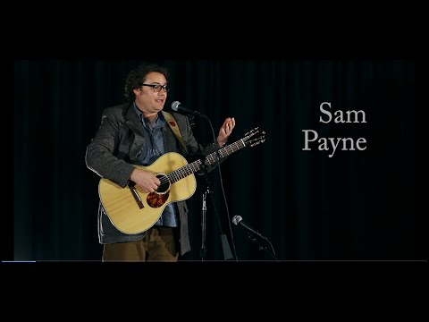 "Sam Payne with ""These Are My People"""