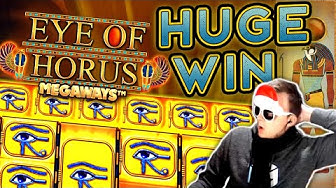 SUPER BIG WIN on Eye of Horus Megaways!!