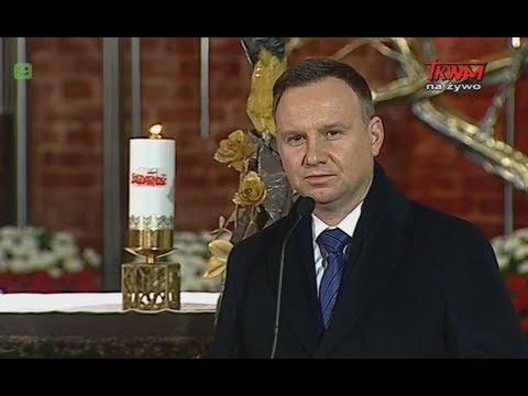 Przemówienie Prezydenta PR wygłoszone podczas uroczystości w Bazylice św. Brygidy w Gdańsku