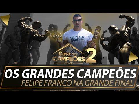 FELIPE FRANCO NA GRANDE FINAL E OS GRANDES  CAMPEÕES    CASA DOS CAMPEÕES 2