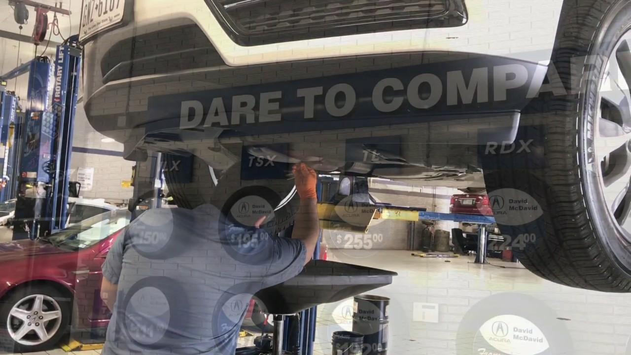 Why You Should Service At David McDavid Acura Of Plano
