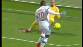 Clinton Njie - Olympique Lyonnais vs ASSE