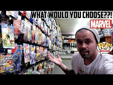 EPISODE 36  TOY HUNTING FOR VINTAGE MARVEL LEGENDS, WWE ELITE FIGURES AND FUNKO POPS! CHASE FOUND!