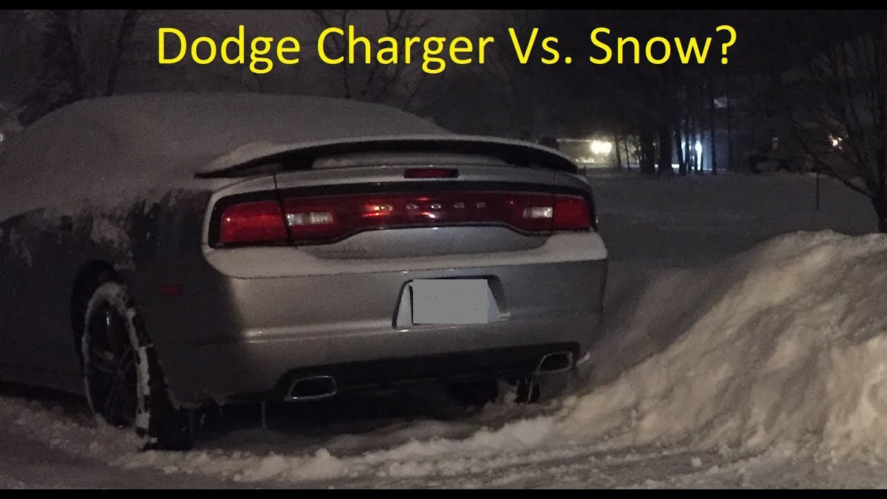 dodge charger in the snow awd vs rwd what size tires. Black Bedroom Furniture Sets. Home Design Ideas