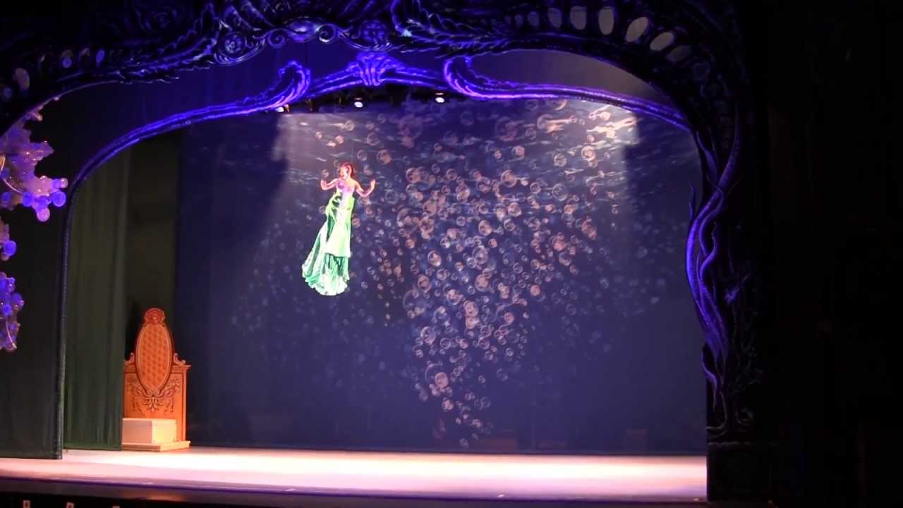 Disney's The Little Mermaid at Paper Mill Playhouse, Flying Lessons