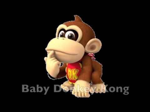 Donkey Kong Characters- The Kong Family