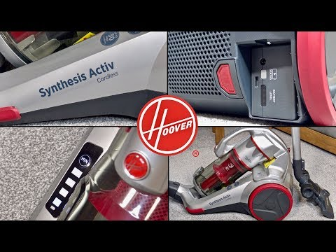 Hoover Synthesis Activ Cordless Bagless Cylinder Vacuum
