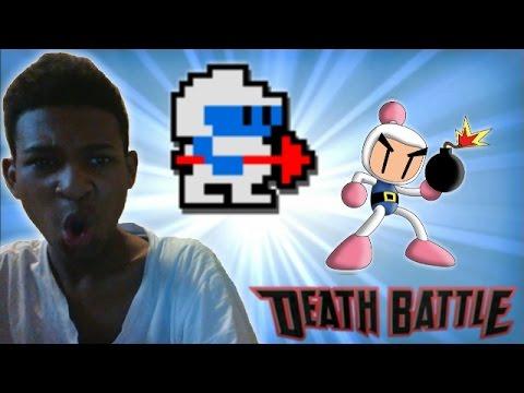 Bomberman VS Dig Dug - Death Battle! Reaction