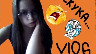 VLOG:Целый день сижу дома/поршивая погода/VLOG:a day of sitting at home/is lousy weather