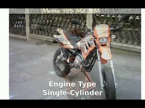 2005 MZ 125 SM Review, Specs