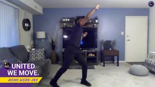 Home Work-In with a Planet Fitness Trainer