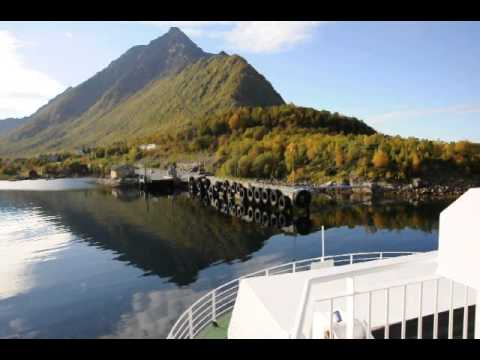 Melbu, Norway - Taking the car ferry to Fiskebol...continuing on Highway E10 - 09/19/2010