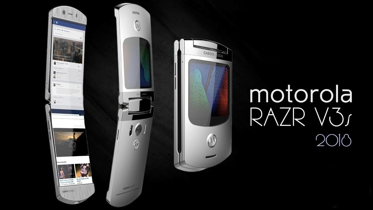 motorola razr v3s 2018 con android y pantalla plegable. Black Bedroom Furniture Sets. Home Design Ideas