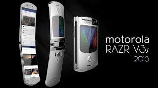 Motorola RAZR V3s 2018 Con Android y Pantalla Plegable