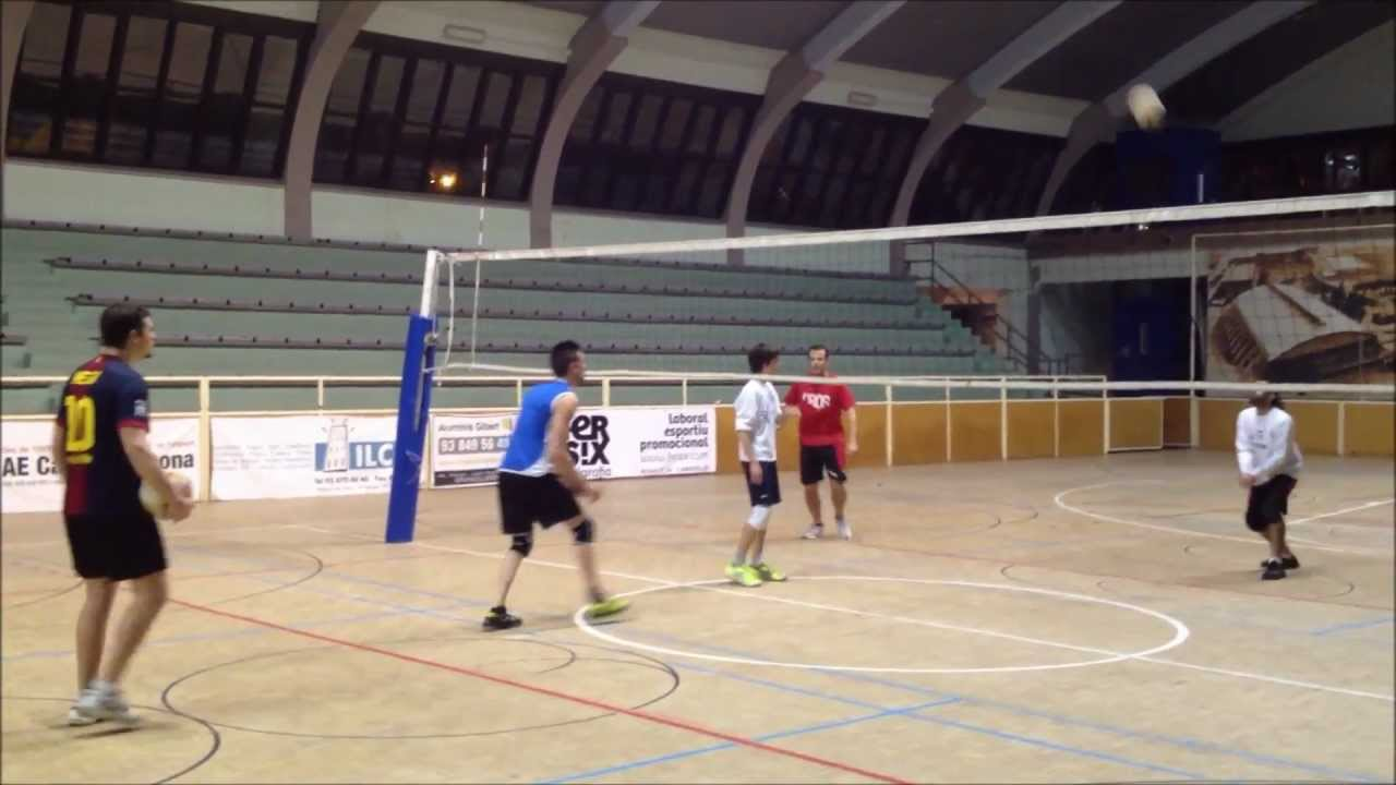 Voleibol ataque por 2