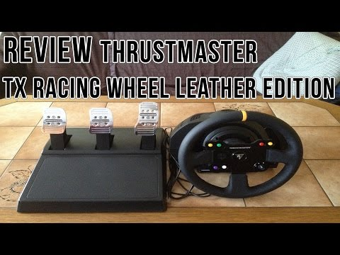 thrustmaster tx racing wheel leather edition lenkrad mit. Black Bedroom Furniture Sets. Home Design Ideas
