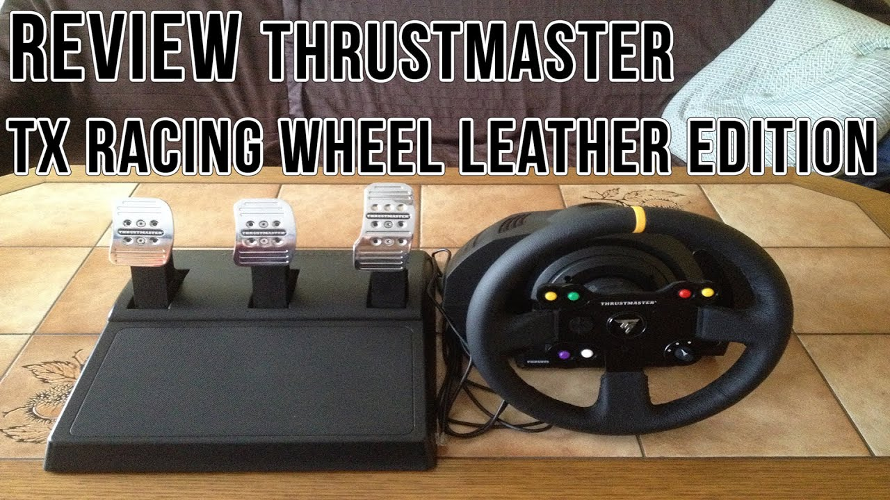 promo code cf88c afb6a Review Thrustmaster TX Racing Wheel Leather Edition  German HD